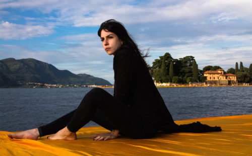 floating, piers, iseo, lake, sun, arab, portrait, girl, beautiful, gorgeous, personality, christo, bergamo, fotografia, ritratto, portrait, photographer, photography, personality, river, fiume, burro, night, day